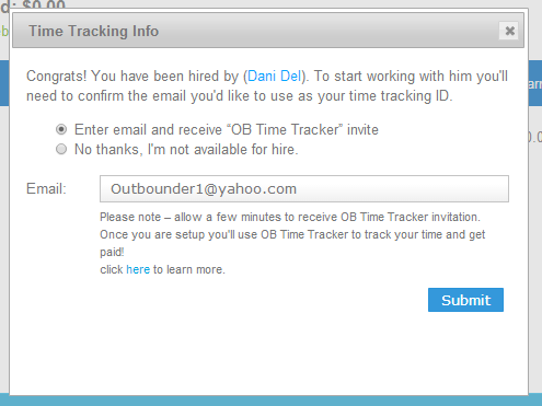 How to Set Up Outbounders Time Tracker – Helpdesk